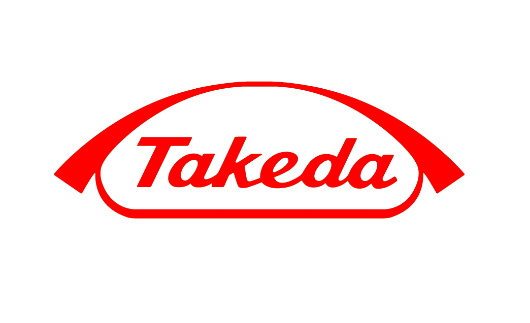 Takeda logo on white background