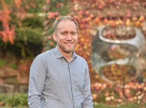 Arnaud Krebs, EMBL's new group leader studies how gene expression is controlled