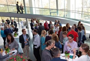 Guests at the Annual Reception.