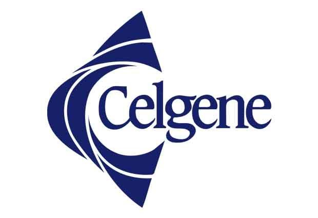 Celgene logo on white background