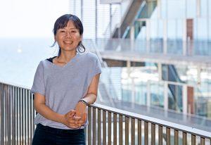 Miki Ebisuya at EMBL Barcelona