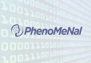 PhenoMeNal logo on binary data stream