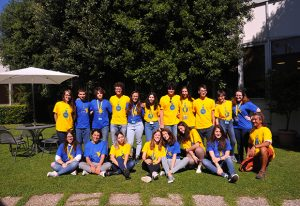 Group picture of the students and coordinators of the second edition of 'Summer in Science' at EMBL Rome. PHOTO: Berta Carreño/EMBL