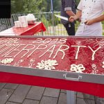 EMBL is the flagship lab for life sciences… and additionally now for strawberry cakes! PHOTO: Photolab /EMBL
