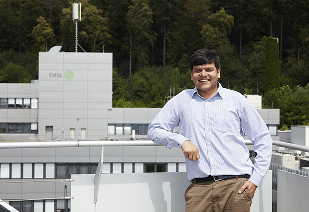 New EMBL Barcelona group leader Vikas Trivedi. PHOTO: Marietta Schupp/EMBL