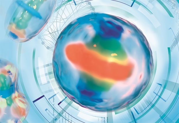 A dynamic protein atlas of a human cell. IMAGE: Aleksandra Krolik/EMBL