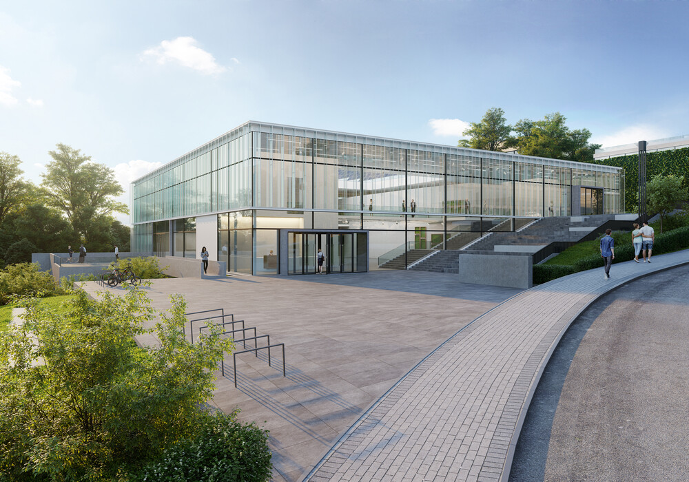 Rendering of the new EMBL Imaging Centre. IMAGE: gerstner architekten, Heidelberg/Render Vision