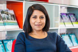 Jessica Vamathevan in EBI South building