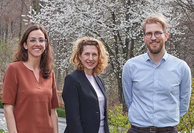 Virginia Otón García, Jana Pavlic and Max Eklund
