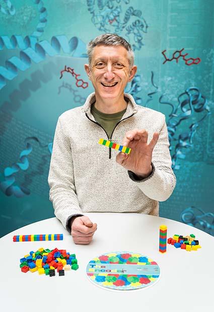 Nick Goldman with Lego