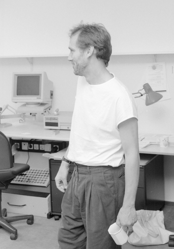 Graham Cameron developed the concept for EMBL's European Bioinformatics Institute. Credit: EMBL Archive