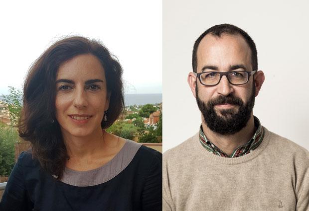 Teresa Sardón and Marco Milán