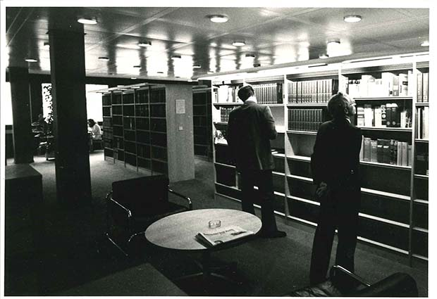 The Szilárd Library in the late 1970s