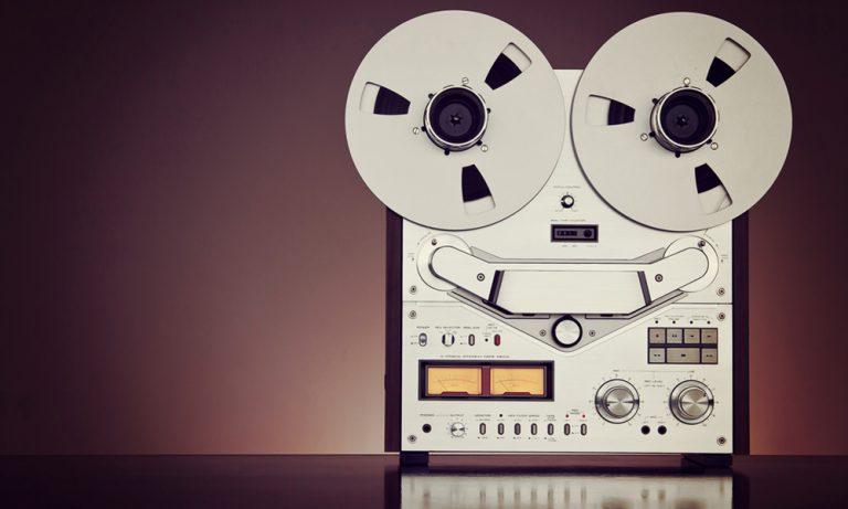 Photo of recording equipment.