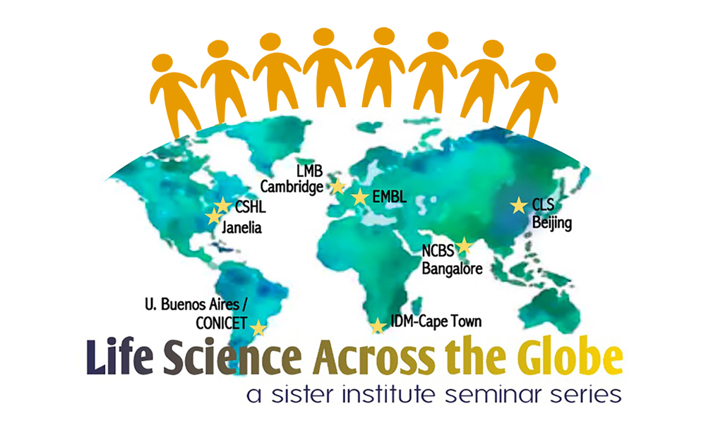 Key visual for 'Life Science Across the Globe'