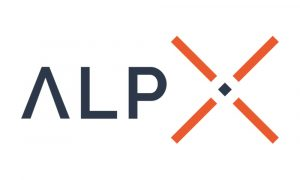 The Logo of the ALPX company.