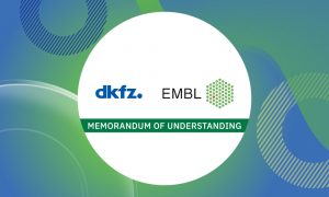 Logos of EMBL and the DKFZ