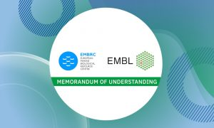 Logos of EMBL and the EMBRC.