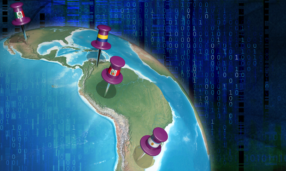 Data sharing in Latin America