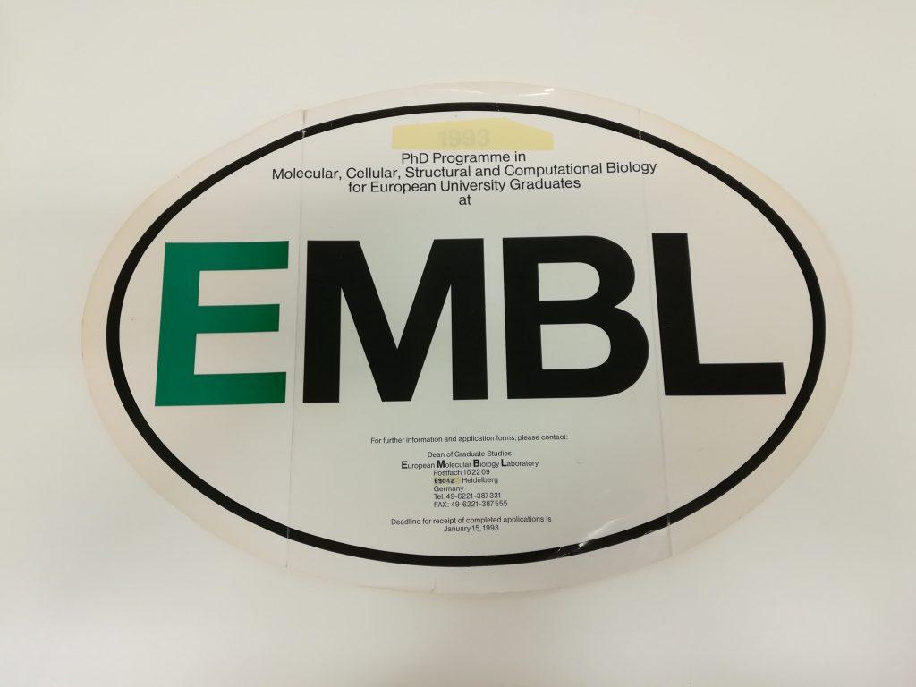 old EMBL logo